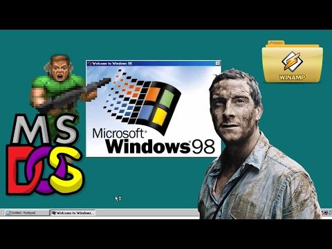 Выживание под Windows 98 в 2017 году