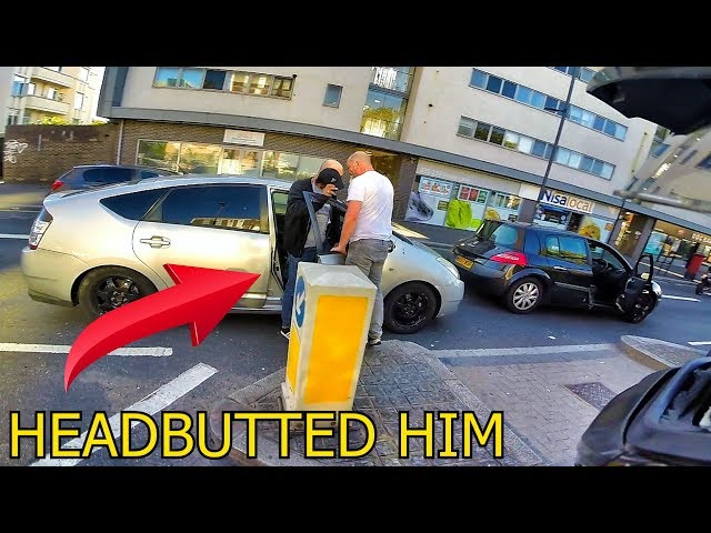 LONDON DRIVER FREAKS OUT AT OTHER DRIVER! RAW