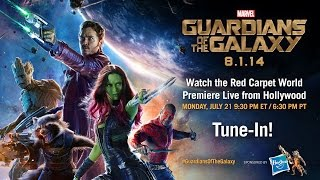 Marvel's Guardians of the Galaxy Red Carpet Premiere