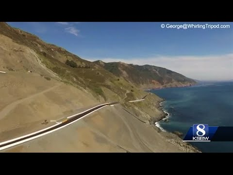 Big Sur sees first weekend rush after re-opening of Hwy 1 at Mud Creek