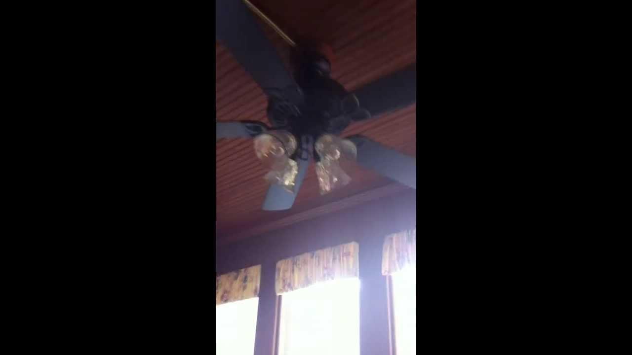 Older Harbor Breeze Springflied Ceiling Fan Youtube