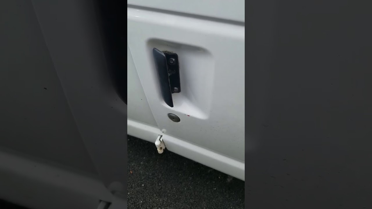 How To Replace The Cargo Door Handle On A Ford Econoline Van Youtube