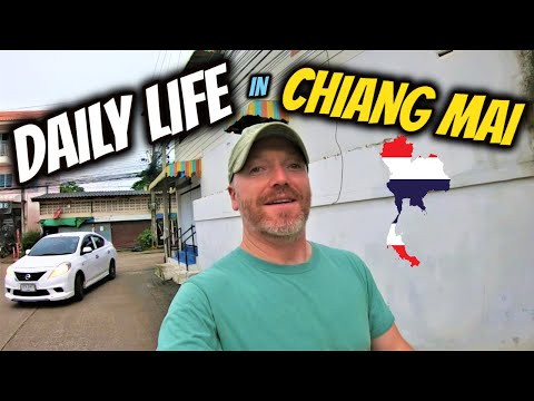 My Daily Life In Chiang Mai, Thailand