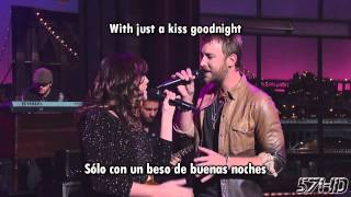 lady antebellum just a kiss hd video subtitulado español english lyrics