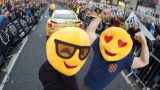 Gumball 3000: EmojiTR Pops, Bangs & Insane Reactions On Regent Street
