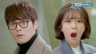[1ClickScene] BaekJinhee finally meets ChoiDaniel as her managing director! (Jugglers Ep.2)