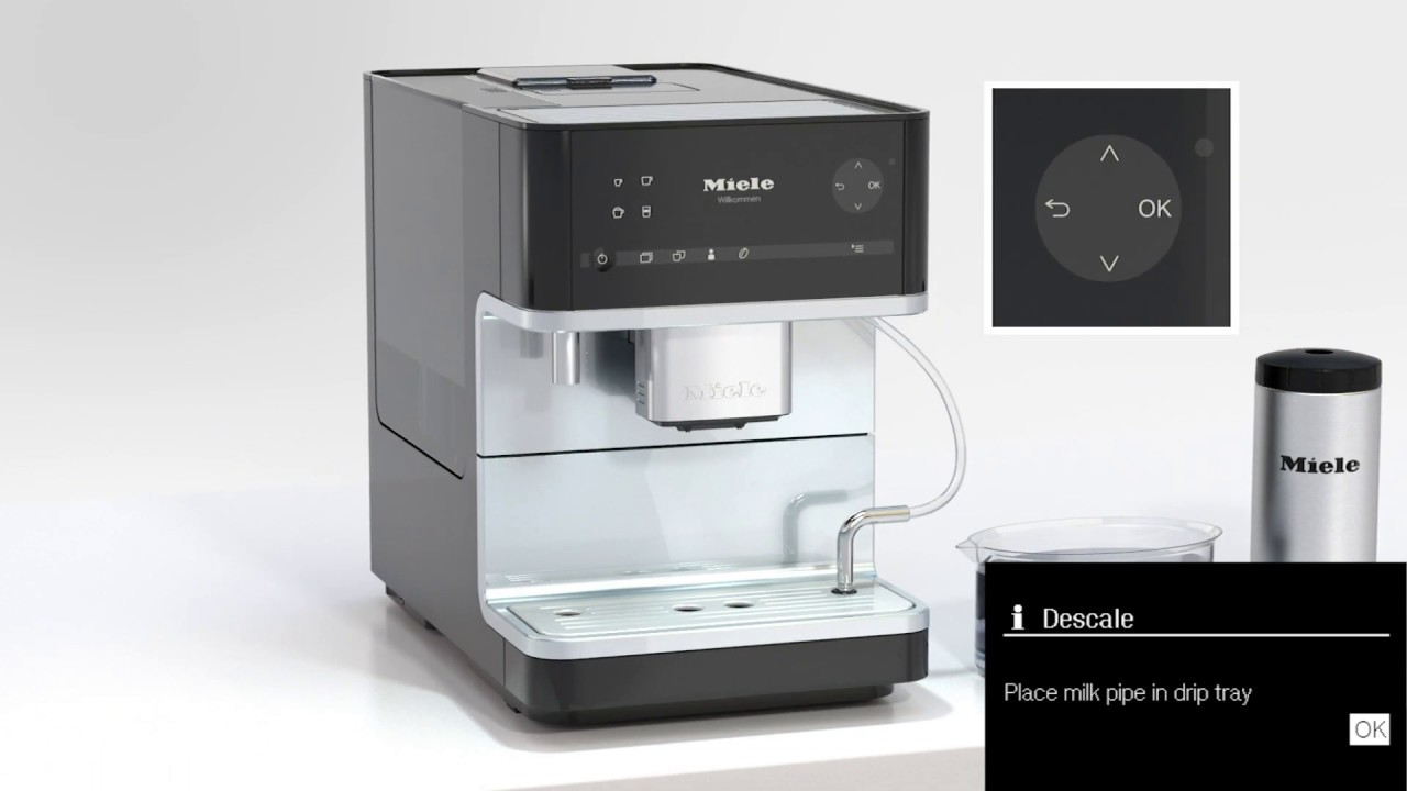 How To Descale Your Miele Coffee Machine