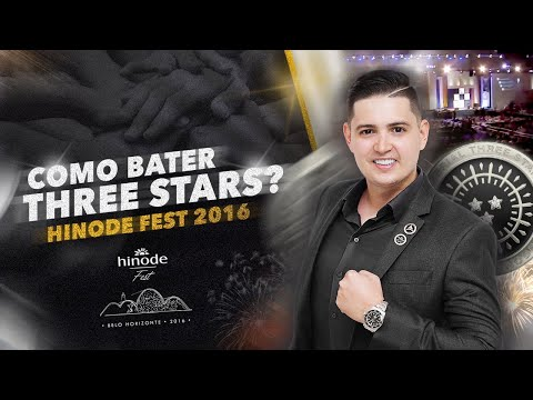 Daniel Uchoa - Como bater THREE STARS? - HINODE FEST 2016