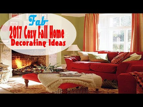 2017 Cozy Fall Home Decorating