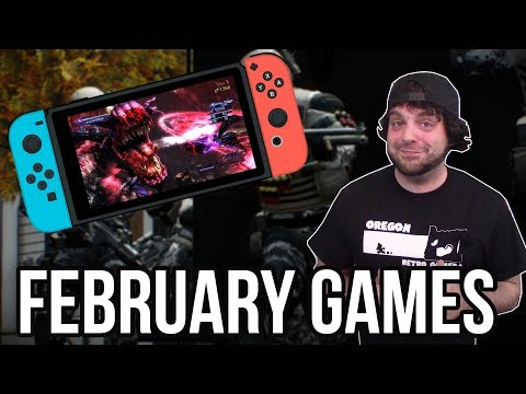 Download Youtube: The BEST Nintendo Switch Games for February 2018! | RGT 85