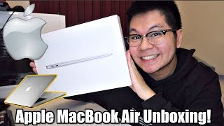 SILVER Apple MacBook Air Unboxing!