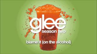 Video Blame It (On the Alcohol) | Glee [HD FULL STUDIO] download MP3, 3GP, MP4, WEBM, AVI, FLV Agustus 2018