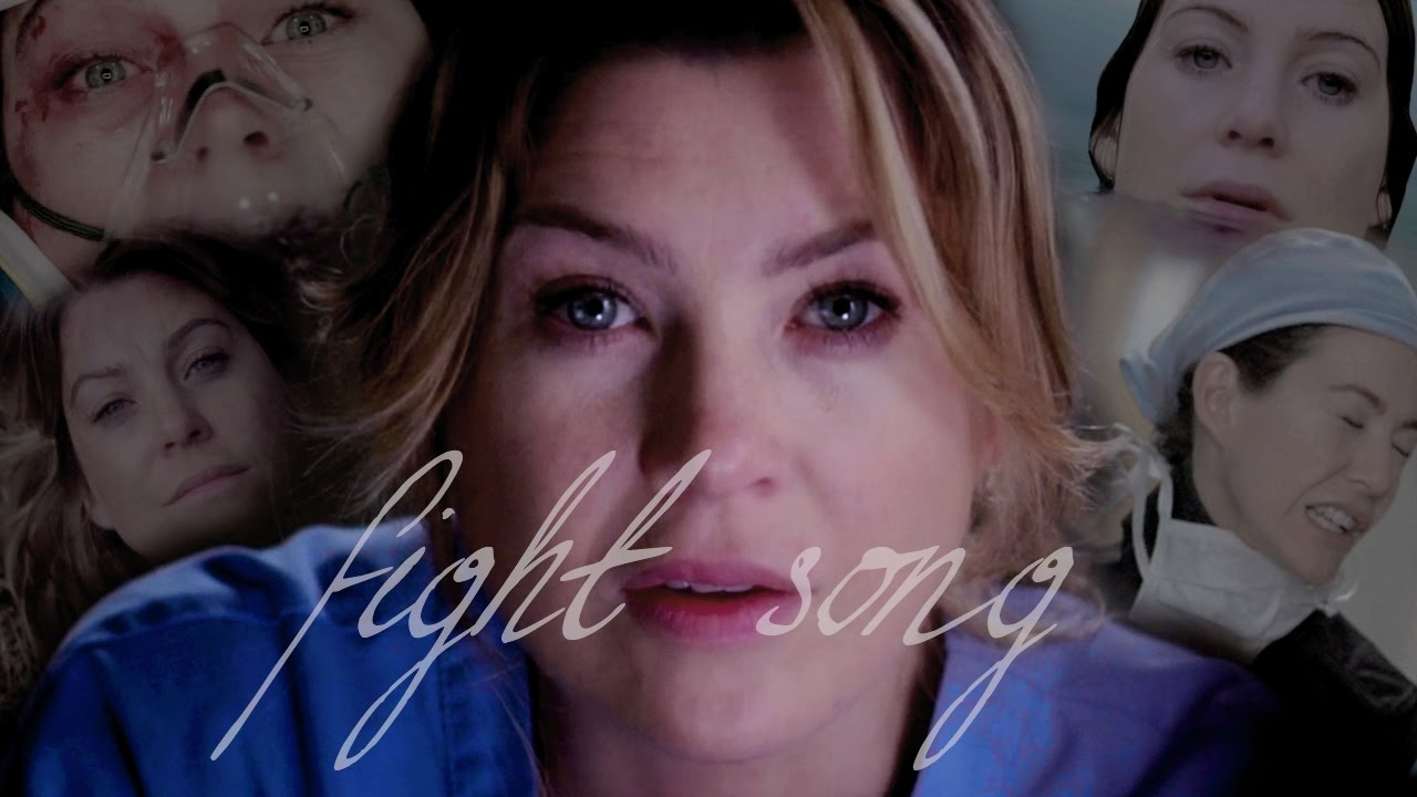 meredith grey + fight song - YouTube