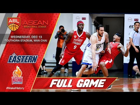 Hong Kong Eastern vs Tanduay Alab Pilipinas | FULL GAME | 2017-2018 ASEAN Basketball League