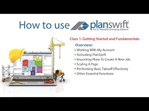 Level 1 PlanSwift Webinar Tutorial UPDATED - YouTube