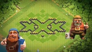 New cool triple X town hall 7 base layout [th7] 2017 💣💥