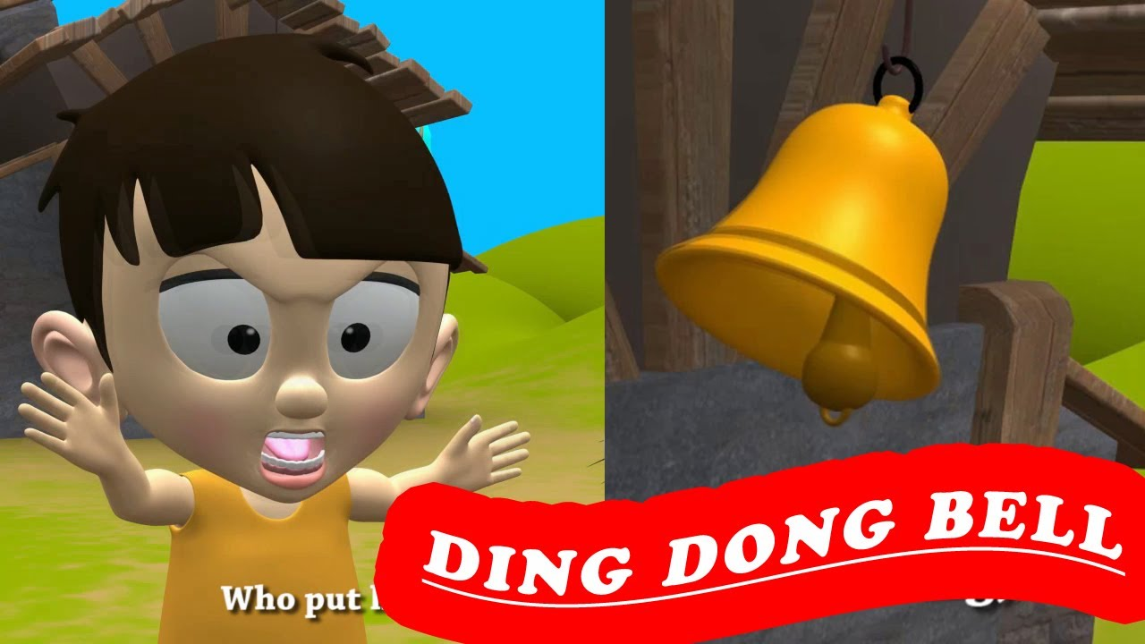 Ding Dong Bell Nursery Rhyme With Lyrics For Kids ...