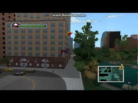Ultimate Spider Man Free Roam Gameplay {With Cheats},{Trainer}