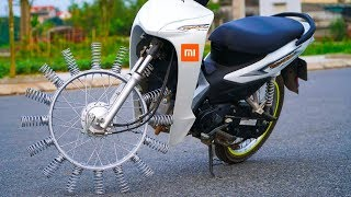 5 AMAZING ELECTRONIC BICYCLE ▶ Spring Wheel Bike Invention You Must Have