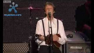 Paul McCartney Something Live at Anfield, Liverpool 1st June 2008