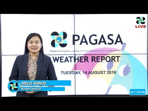 Public Weather Forecast Issued at 4:00 AM August 14, 2018