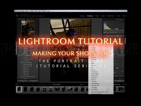 Using Lightroom 5 to make your photos POP