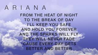 Repeat youtube video OVER AND OVER AGAIN NATHAN SYKES FT. ARIANA GRANDE (LYRICS)