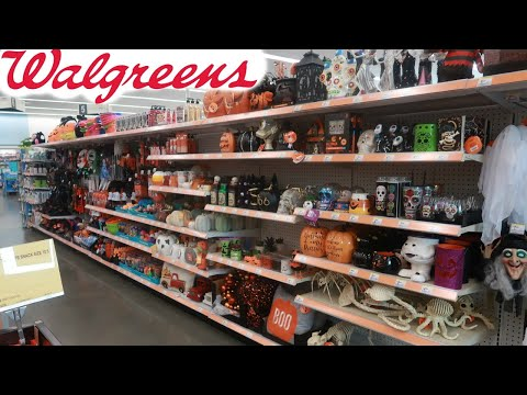 WALGREENS /HALLOWEEN DECOR 2020