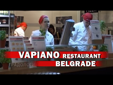 VAPIANO RESTAURANT - ITALIAN FOOD RESTAURANT / VAPIANO RESTORAN - BELGRADE / BEOGRAD