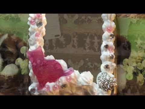 Pink Resin Phone Case