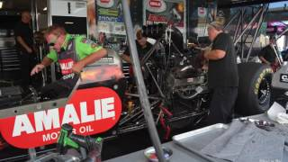 Terry McMillen NHRA Amalie Motor Oil Dragster...