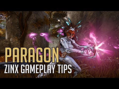 Paragon - Zinx Gameplay and Ability Tips
