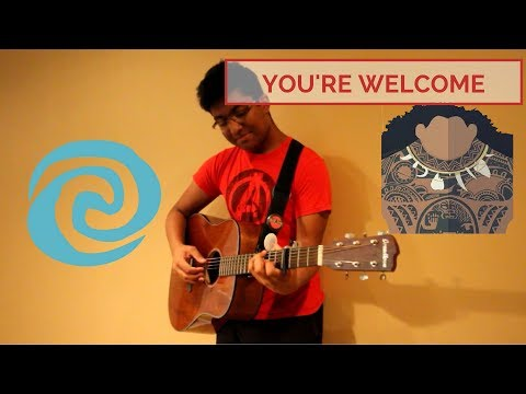 You're Welcome - Jordan Fisher ft. Lin-Manuel Miranda Fingerstyle Cover