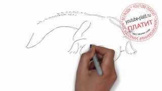 Как правильно рисовать мексиканского аллигатора крокодила(Как нарисовать картинку поэтапно простым карандашом за короткий промежуток времени. Видео рассказывает..., 2014-06-29T04:14:22.000Z)