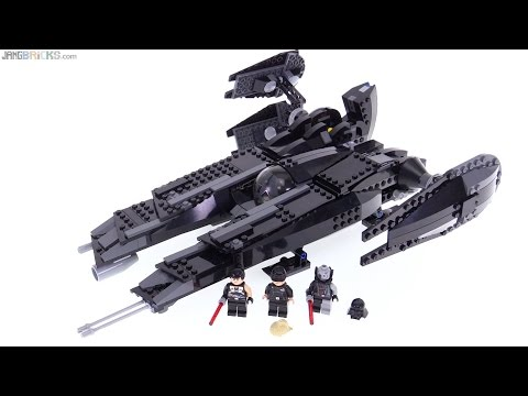 Lego star wars rogue shadow review 7672 old 2008 not new youtube - Croiseur interstellaire star wars lego ...