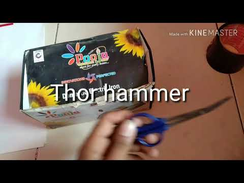 How to paper thor hammer