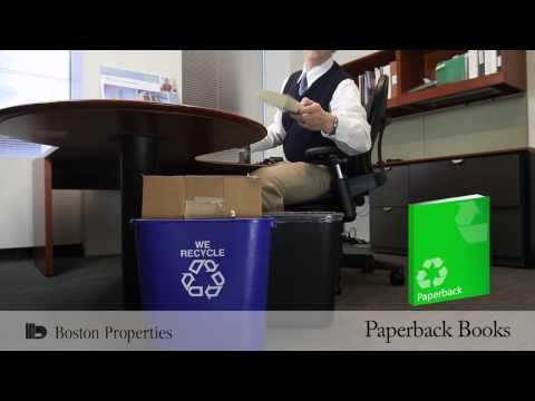 Boston Properties Single Stream Recycling