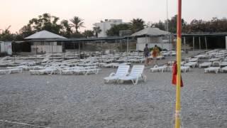 Sea Bird Beach Hotel - пляж. Конаклы, Средиземное море 2014(Пляж пляж отеля Sea Bird Beach Hotel. Конаклы. Алания 2014., 2014-08-03T11:58:45.000Z)