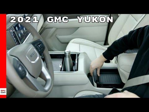 2021 GMC Yukon Power Sliding Center Console