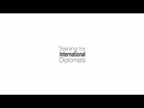 Training for International Diplomats I Internationale Diplomatenausbildung