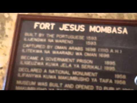FORT JESUS MOMBASA KENYA
