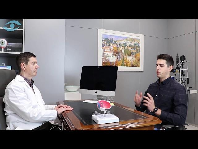 Entrevista del Doctor Hidalgo a su Hijo tras haber sido Operado | Clínica Oftalmológica en Granada
