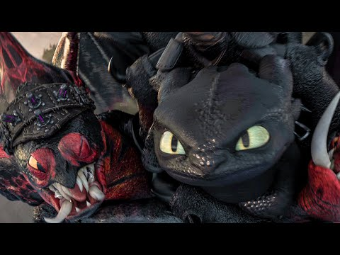 Toothless Reveals His Electric Power Scene - HOW TO TRAIN YOUR DRAGON 3 (2019) Movie Clip