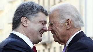 US Vice President Joe Biden held bilateral talks in Kyiv with Ukraine President Petro Poroshenko, From YouTubeVideos