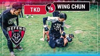 WING-TSUN-Master vs. TKD-Black-Belt | DEFEND Fight Club