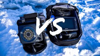 Garmin Panoptix VS Regular Flasher | Ice Fishing Challenge
