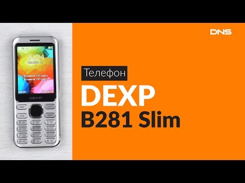 Распаковка телефона DEXP B281 Slim / Unboxing DEXP B281 Slim