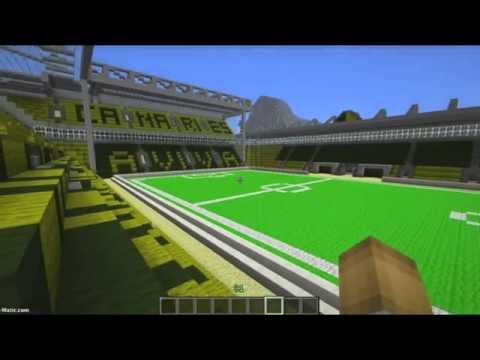 Minecraft - Carrow Road, Norwich City Football Club