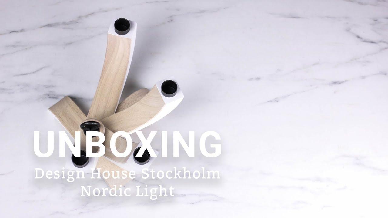 Design house stockholm ljusstake nordic light