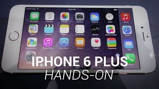 iPhone 6 Plus Hands-On
